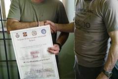 Premiazione Bisi Fausto