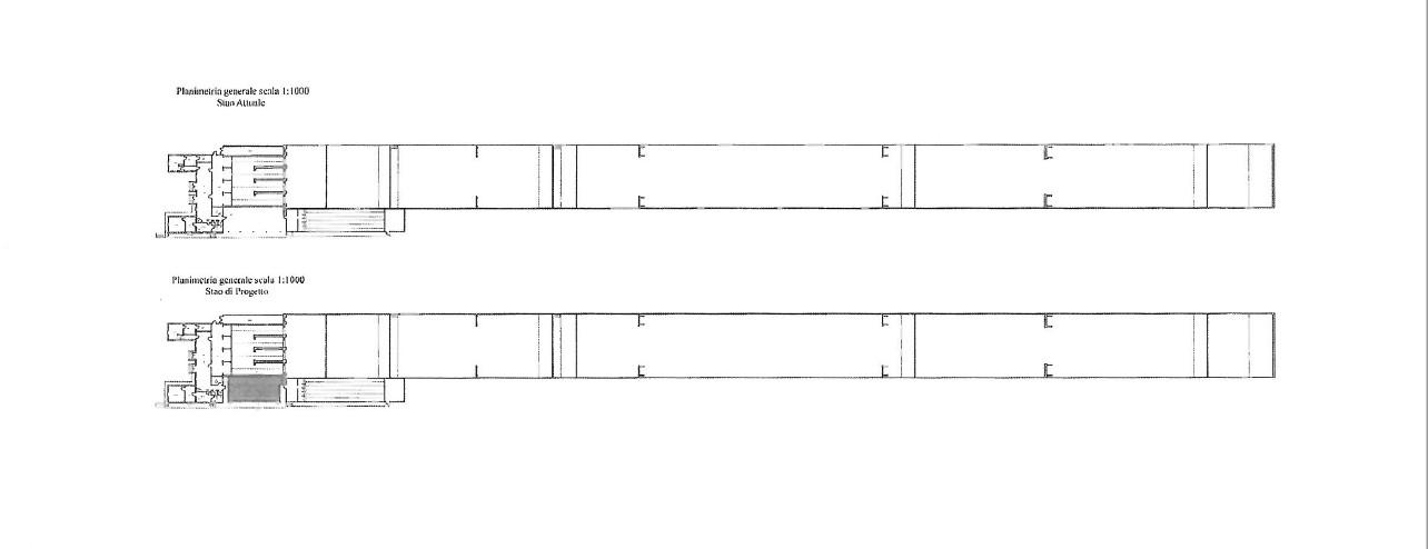 piantina generale TSN Revere con e senza stand aria comoressa